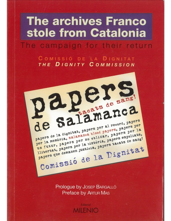 The archives Franco stole from Catalonia