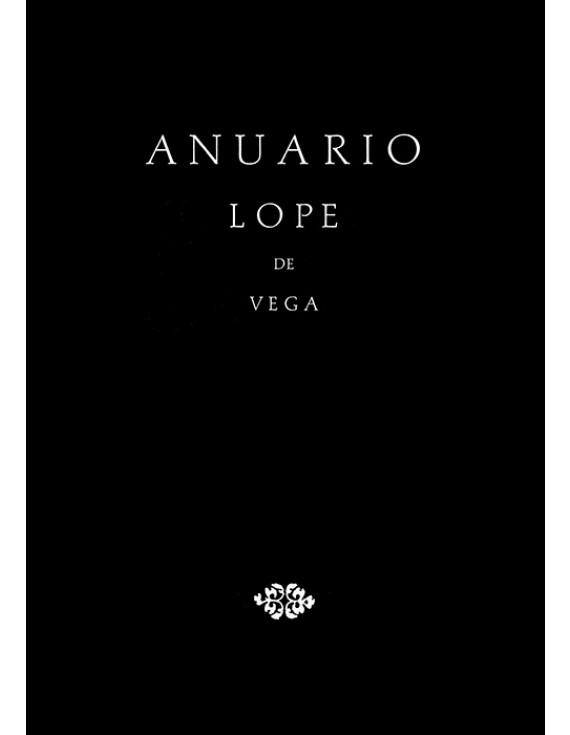 Anuario Lope de Vega I, 1995
