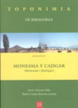 Toponimia de Ribagorza. Municipio de Monesma y Cajigar