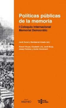 Políticas públicas de la memoria