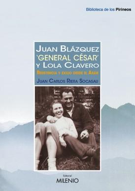 """Juan Blázquez """"General César"""" y Lola Clavero"""