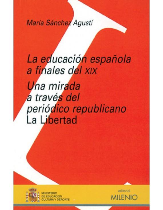 La educación española a finales del XIX