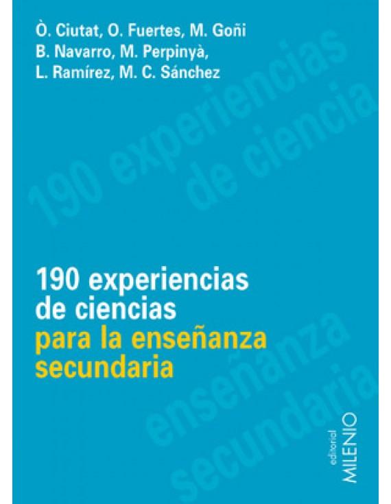 190 experiencias de ciencias para la enseñanaza secundaria