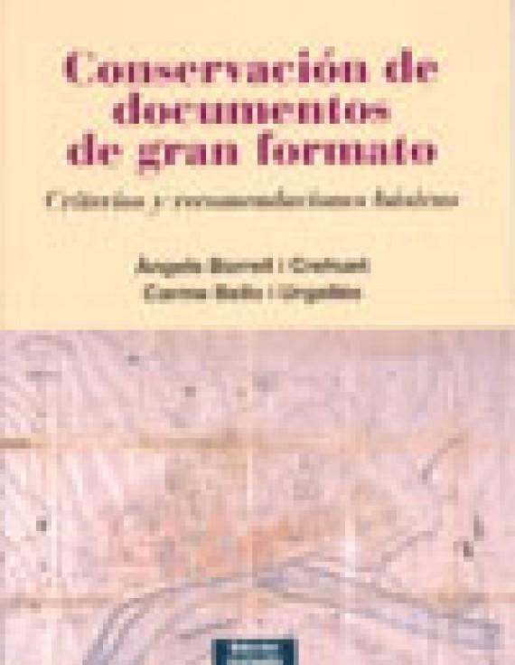Conservación de documentos de gran formato