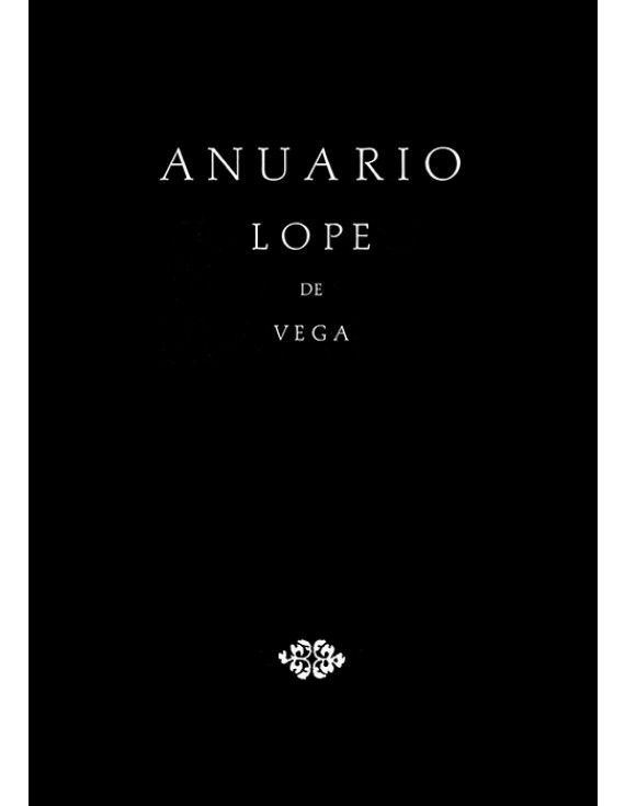 Anuario Lope de Vega V, 1999
