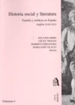 Historia social y literatura. Vol. IV
