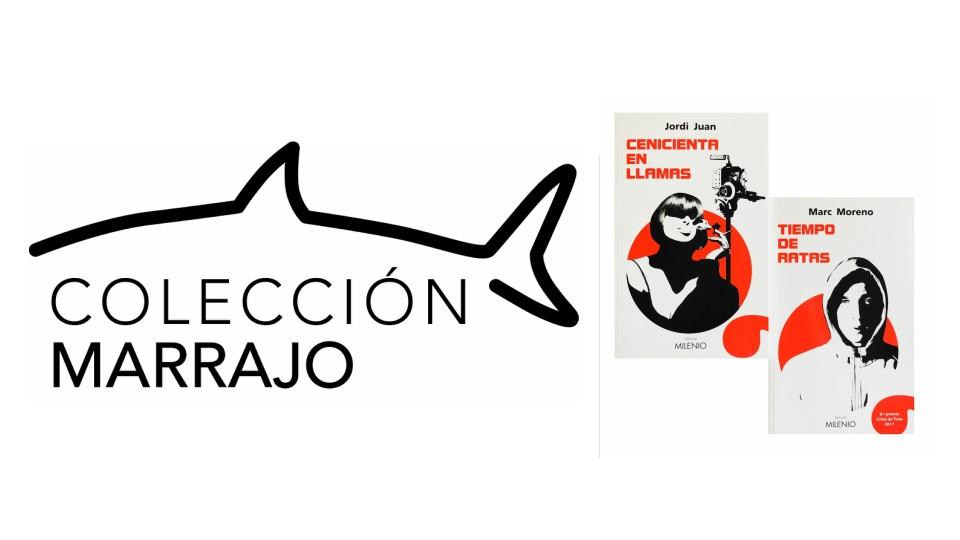Editorial Milenio publica los dos primeros títulos de 'Marrajo', su nueva colección de novela negra