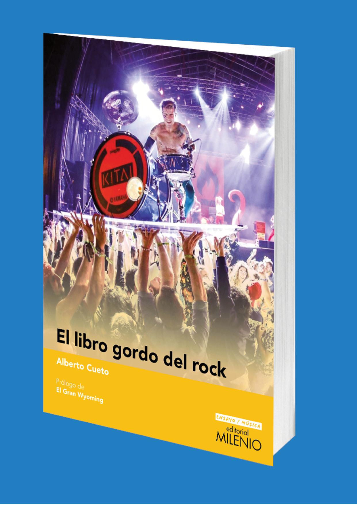 Editorial Milenio presenta 'El libro gordo del rock', del periodista Alberto Cueto